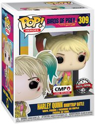 Harley Quinn Boobytrap Battle vinylfigur 309
