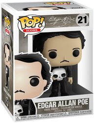Edgar Allan Poe Edgar Allen Poe vinylfigur 21