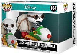Jack Skellington in Snowmobile (POP Rides) vinylfigur 104