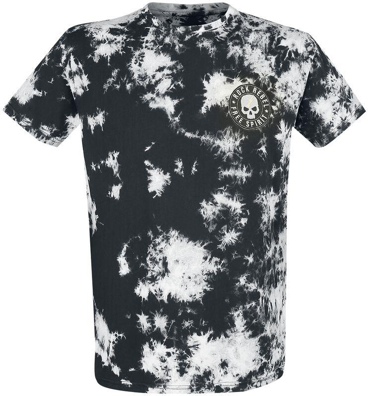 T-shirt in batik look