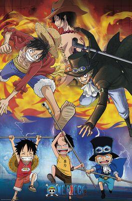 Ace Sabo Luffy