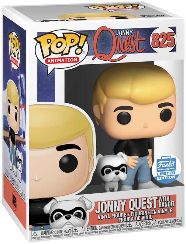 Jonny Quest with Bandit (Funko Shop Europe) vinylfigur 825