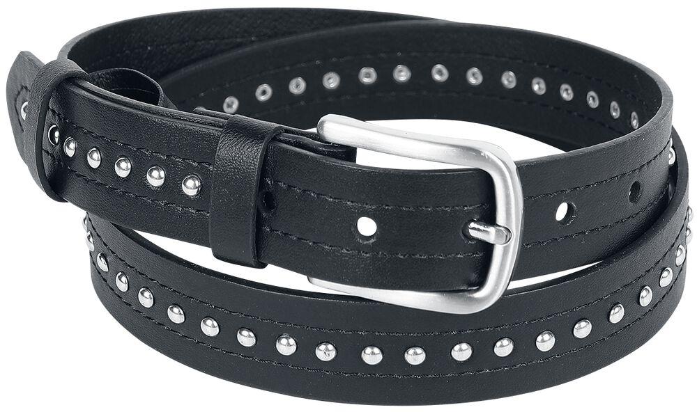 Black Studded Belt