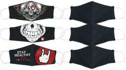 Paket masker normalstorlek - dubbelt 3-pack
