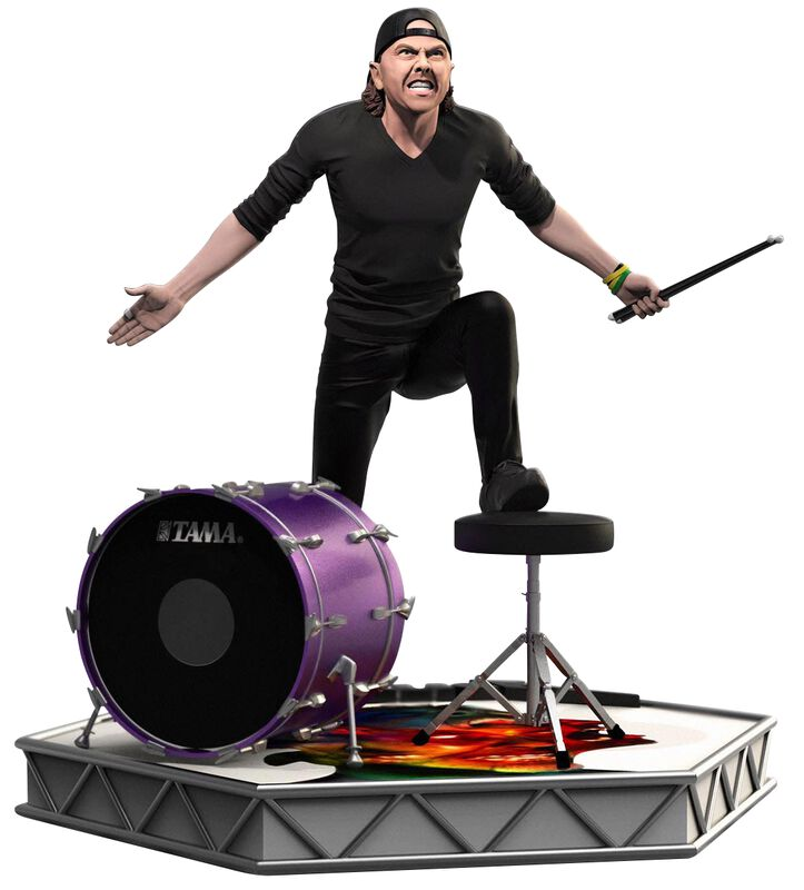 Rock Iconz Statue Lars Ulrich