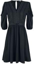 Black Premium Klänning i Boho-stil