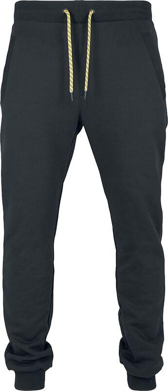 Contrast Drawstring Sweatpants