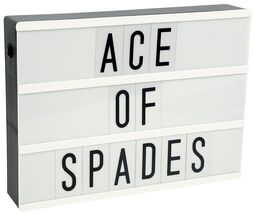 Light Box Colour Changing Light Up Message Board