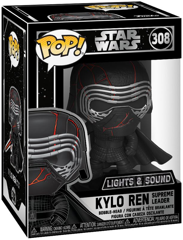 Episode 9 - The Rise of Skywalker - Kylo Ren  (Lights and Sound) vinylfigur 308