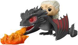 Daenerys and Fiery Drogon POP Rides vinylfigur 68