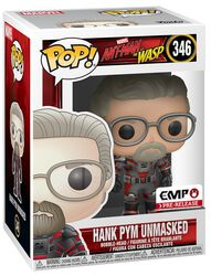 Ant-Man and The Wasp Hank Pym unmasked - vinylfigur 346