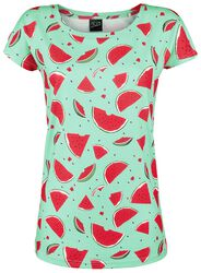 Lovely Watermelon Loose Shirt