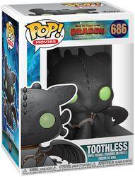 3 - Toothless vinylfigur 686