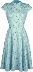 Pastel Peacock Dress