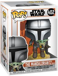 The Mandalorian - The Mandalorian With The Child vinylfigur 402