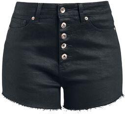 Hotpants med knappgylf