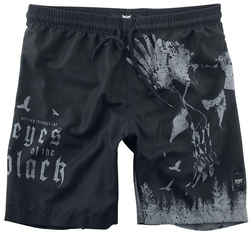 Swim Shorts with Print Black Premium