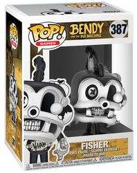 Bendy And The Ink Machine Fisher vinylfigur 387