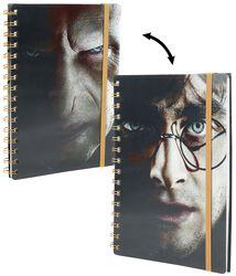 Harry Potter & Voldemort - Lenticular anteckningsbok
