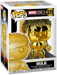 Marvel Studios 10 - Hulk (Chrome) vinylfigur 379