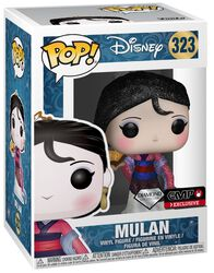 Mulan (Diamond Collection - Glitter) - vinylfigur 323