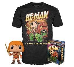 He-Man - He-Man (Glow In The Dark) - POP! & Tee