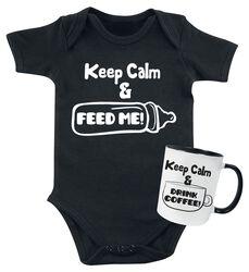 Keep Calm babybody + mugg