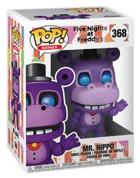 Pizza Sim - Mr. Hippo vinylfigur 368