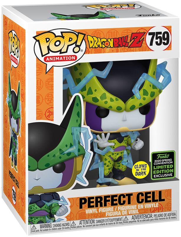 Z - ECCC 2020 - Perfect Cell (GITD) vinylfigur 759
