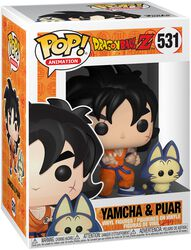 Z - Yamcha and Puar vinylfigur 531