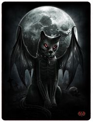 Vamp Cat fleecefilt