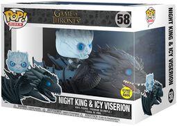 Night King & Icy Viserion (GITD) POP Rides vinylfigur 58
