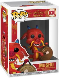 Mushu with Gong vinylfigur 630