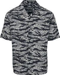 Pattern Resort Shirt Stone Camo