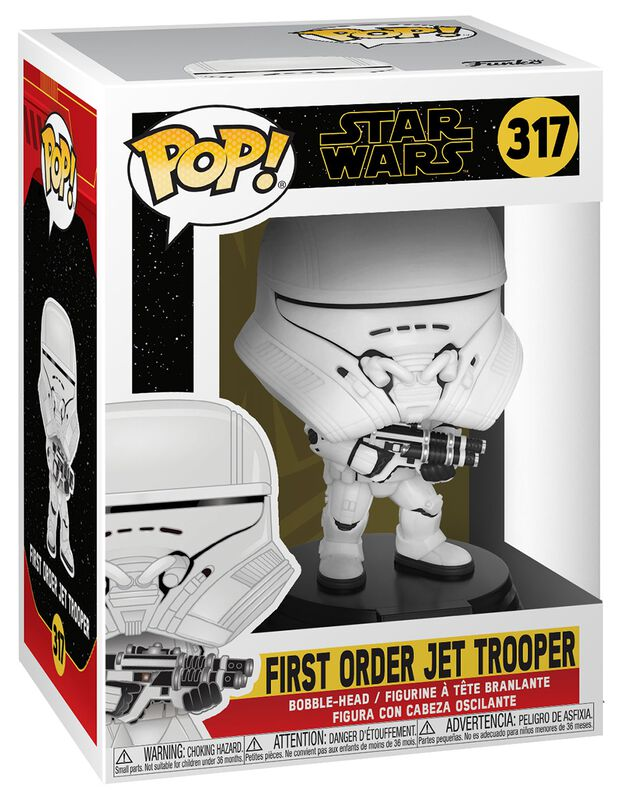 Episode 9 - The Rise of Skywalker - First Order Jet Trooper vinylfigur 317