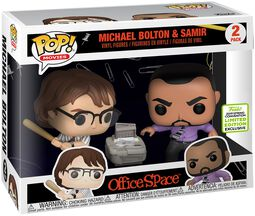 ECCC 2019 - Office Space Michael Bolton and Samir (2-Pack) vinylfigur