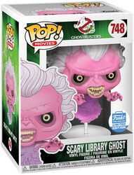 Scary Library Ghost (Funko Shop Europe) vinylfigur 748
