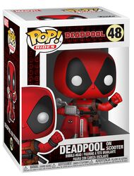 Deadpool on Scooter vinylfigur 48