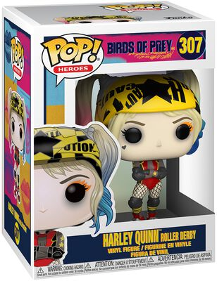 Harley Quinn Roller Derby vinylfigur 307