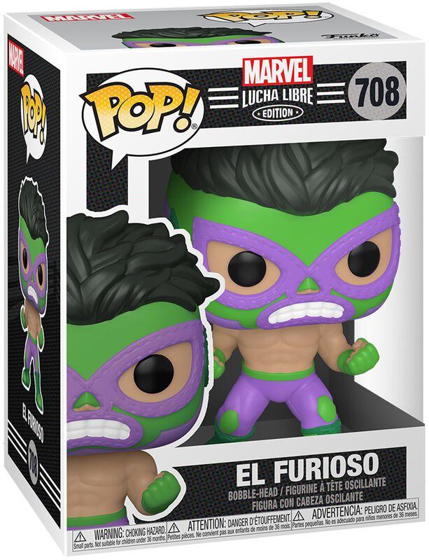 El Furioso - Marvel Luchadores - vinylfigur 708