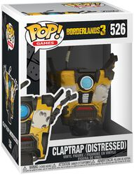 3 - Claptrap (Distressed) vinylfigur 526