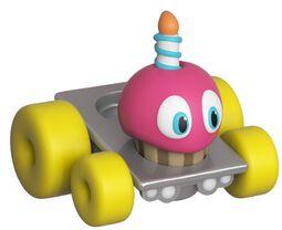 Super Racers - Cupcake vinylfigur
