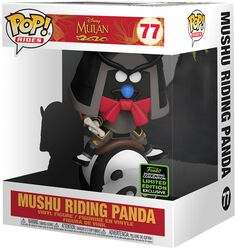 ECCC 2020 - Mushu Riding Panda (POP Rides) vinylfigur 77