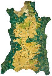 1/1 replika - karta över Westeros