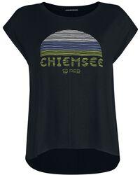 RED X CHIEMSEE - schwarzes T-Shirt mit Print