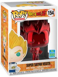Z- SDCC 2019 - Super Saiyan Vegeta (Red Chrome) vinylfigur 154