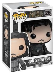 Castle Black Jon Snow vinylfigur 26