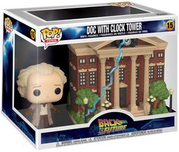 Doc with Clock Tower (Pop! Town) vinylfigur 15
