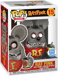 Ad Icons - Rat Fink (Funko Shop Europe) vinylfigur 15