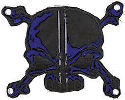 Patch: Blue-Black Skull